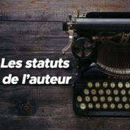 Les statuts de l'auteur